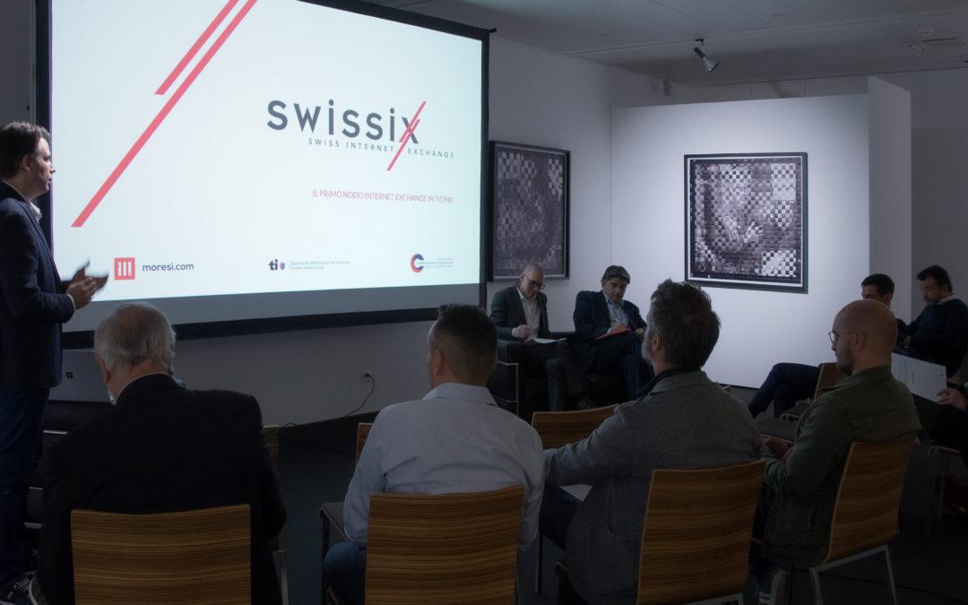 Nasce il primo nodo di un Internet Exchange in Ticino. Una piattaforma libera e neutrale per lo scambio di traffico dati, per una rete internet più efficiente e sicura anche nel nostro Cantone.